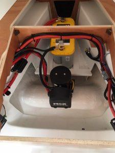 Elektrische installatie boegschroef Beneteau Oceanis 35